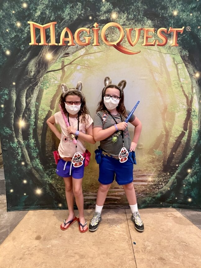 MagiQuest is an extra, but fun expense at Great Wolf Lodge in Georgia.