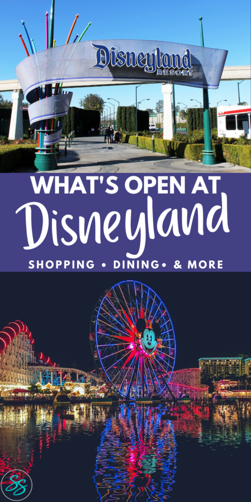 Is Disneyland open? Find out everything you need to know in this Disneyland update. Information included about California Adventure opening. #disneycalifornia #disneyland #disneylandtravel