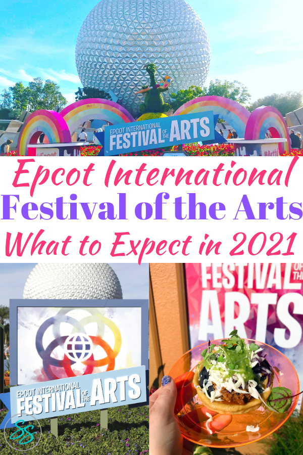 Love Epcot festivals? Then check out this complete guide to the Epcot International Festival of the Arts! We've got tips on what to do, what to eat, and what to drink! #artfulepcot #disneytravel #disneyworldtips