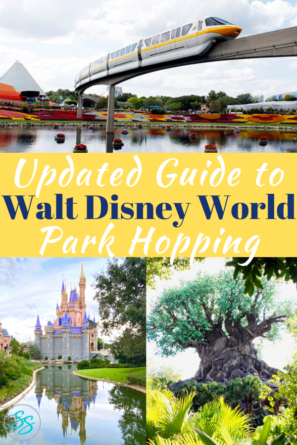 Disney reestablished park hopping with new safety guidelines. Here are some tips on how to use and enjoy the new park hopping option in 2021. #disneytravel #disneytips #parkhopping