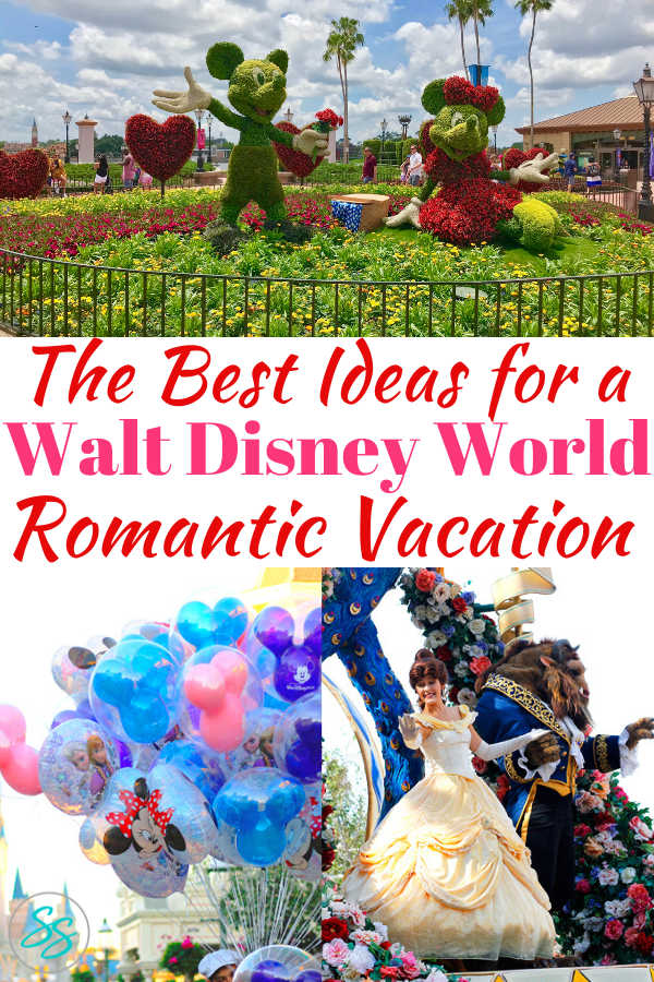 Adults can have fun at Disney World. Find out where to find romance at Disney World, and plan your next trip with just your significant other! #disneytravel #disneyromance #disneytips