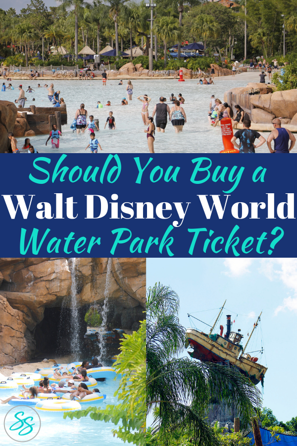 Make sure to add a water park visit to your Disney vacation! Check out these great reasons to visit Disney water parks. #disneytravel #disneywaterparks #typhoonlagoon #blizzardbeach