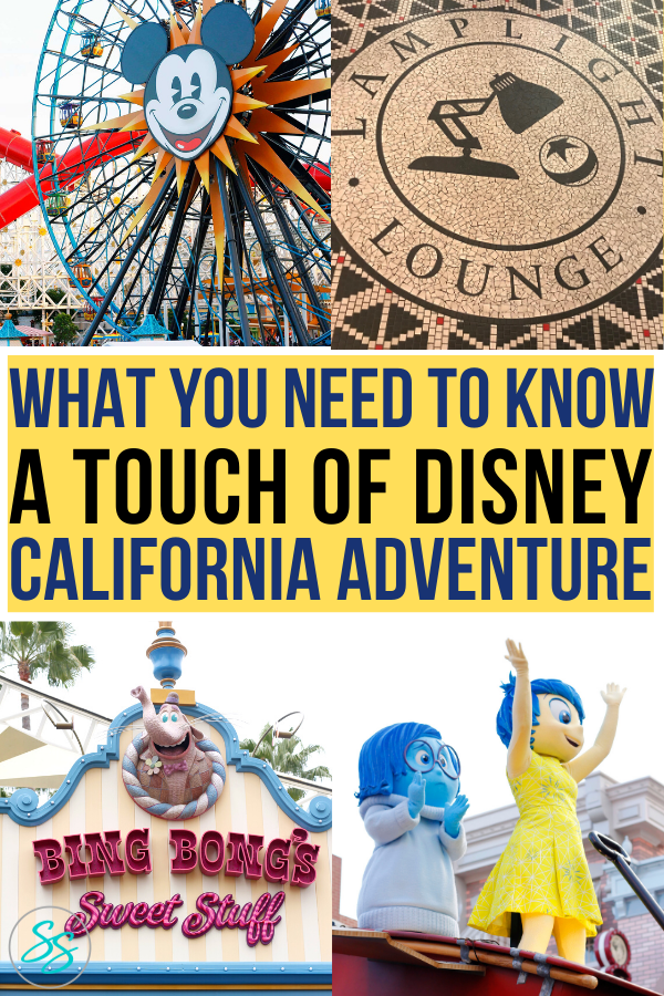 A Touch of Disney is a new event only at California Adventure. Find out what you need to know before you go to this event. #disneycalifornia #disneyland #atouchofdisney