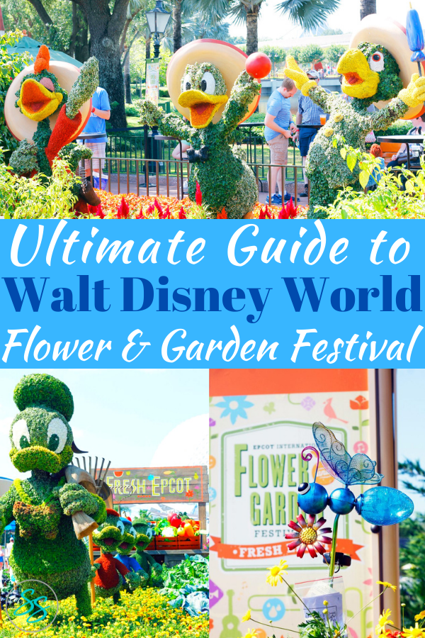 Check out this updated, ultimate guide to Epcot Flower and Garden Festival 2021. All the tips and information you need to know before you go. #freshepcot #flowerandgarden #disneyworld