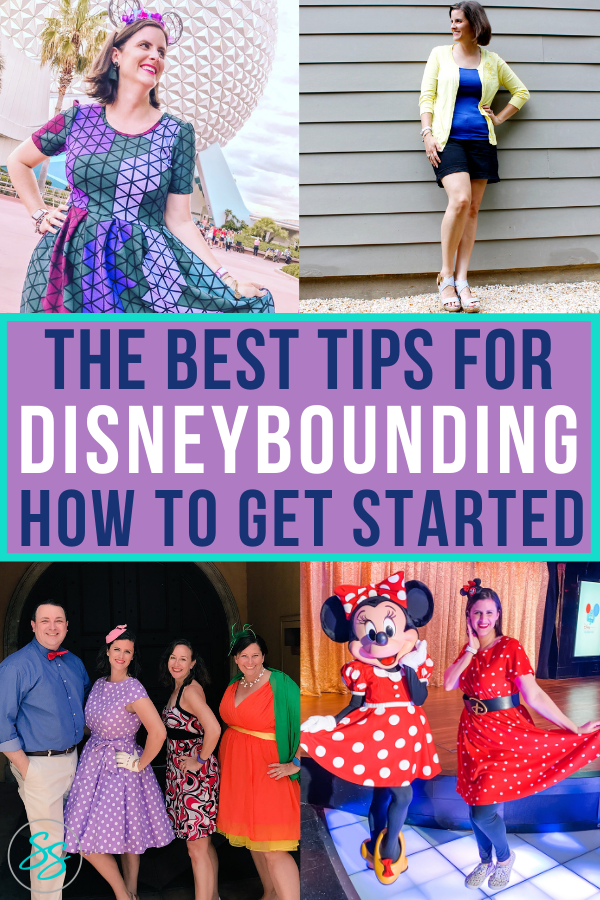Disneybounding is easy with these simple tips. Learn how to have fun with your Disney style without wearing a costume. #disneybound #disneystyle #disneyworld #disneyland