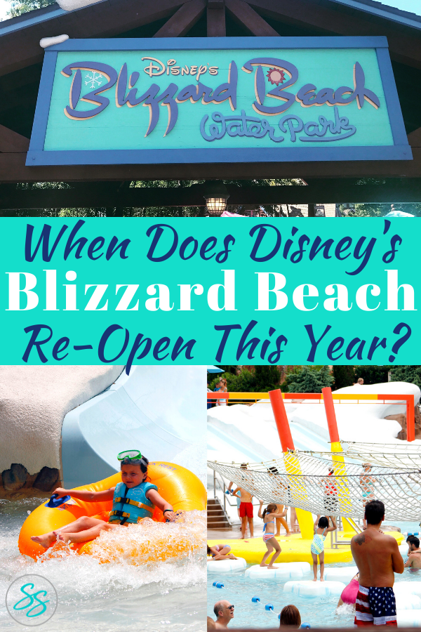 Tickets for Blizzard Beach are on sale now. Before you go, here is everything you need to know about Blizzard Beach as it reopens. #disneywaterparks #blizzardbeach #disneyworld