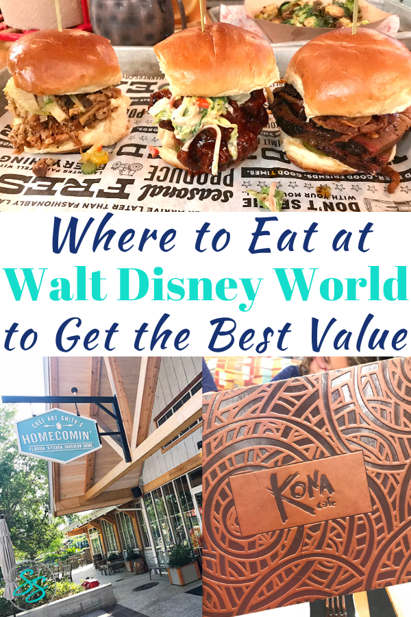 The best Disney World restaurants aren't always the best value. Find out which ones offer the most bang for your vacation bucks. #disneyworld #disneyrestaurants #disneydining