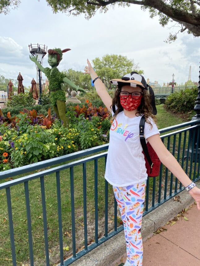 One tip for families at Disney World is to allow their tween to practice independence.