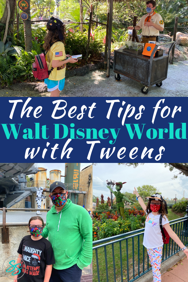 Check out these great tips for enjoying a Disney World vacation with tweens! #disneyworld #disneyparks #disneytips
