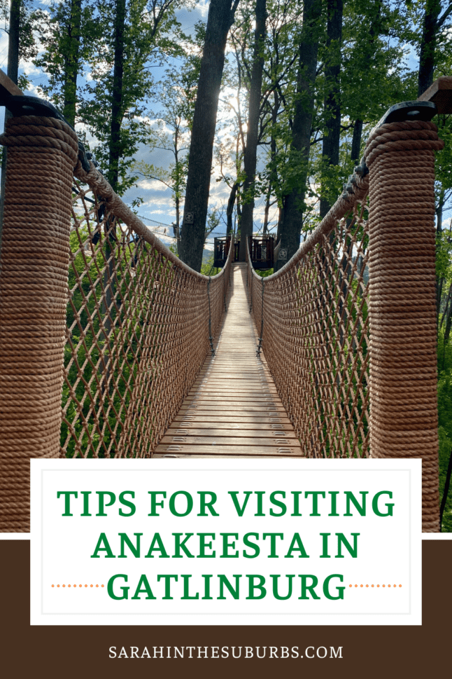 Learn all the best tips for visiting Anakeesta in Gatlinburg Tennessee. #visitgatlinburg #anakeesta #familyvacation