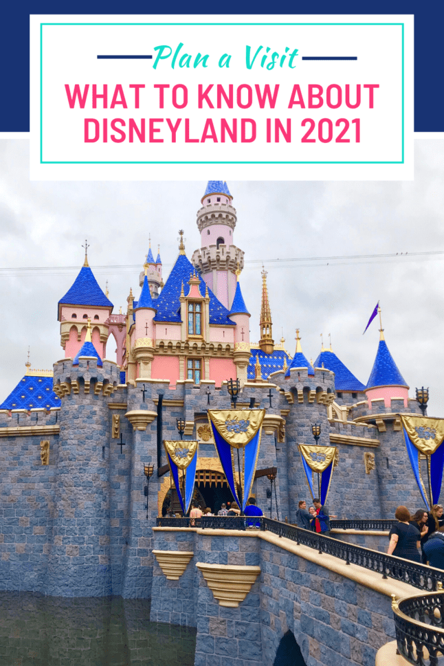 Disneyland has changed. These are the Disneyland updates you should know about before you plan your next trip. #disneyland2021 #disneytravel #disneylandtips