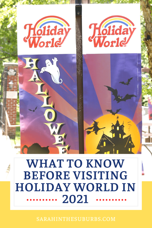 Planning a family trip to Holiday World? Here is everything you need to know before visiting Holiday World in 2021. #familytravel #holidayworld #themeparktips