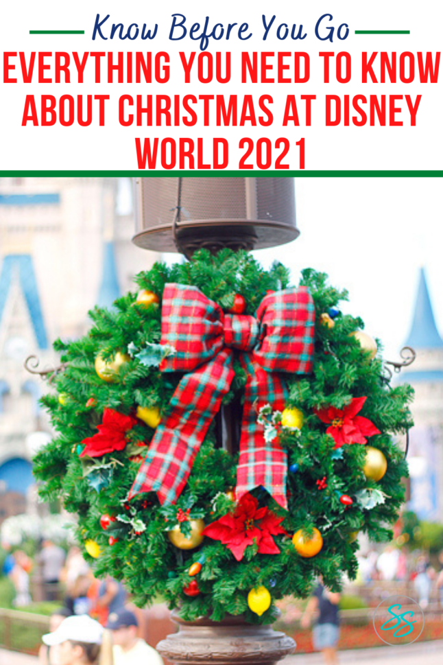 The holidays at Disney World begin November 12, 2021. Find out what you need to know before you go during this holidays this year. #disneyworld #disneychristmas #disneyholidays