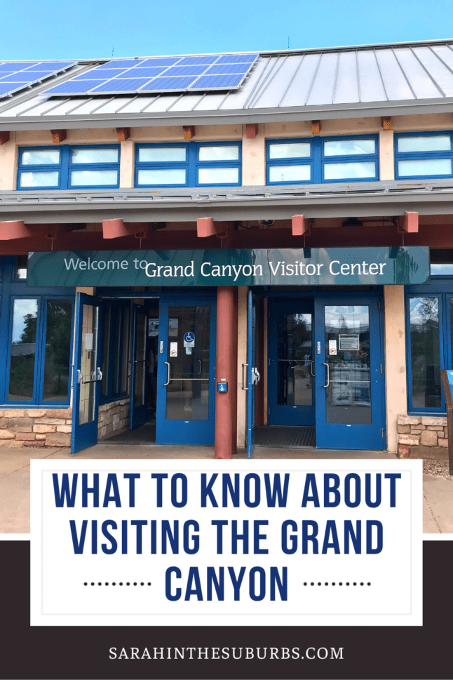 Are you planning a visit to the Grand Canyon in Arizona? Here's everything you need to know before visiting the Grand Canyon. #grandcanyon #rvtravel #camping