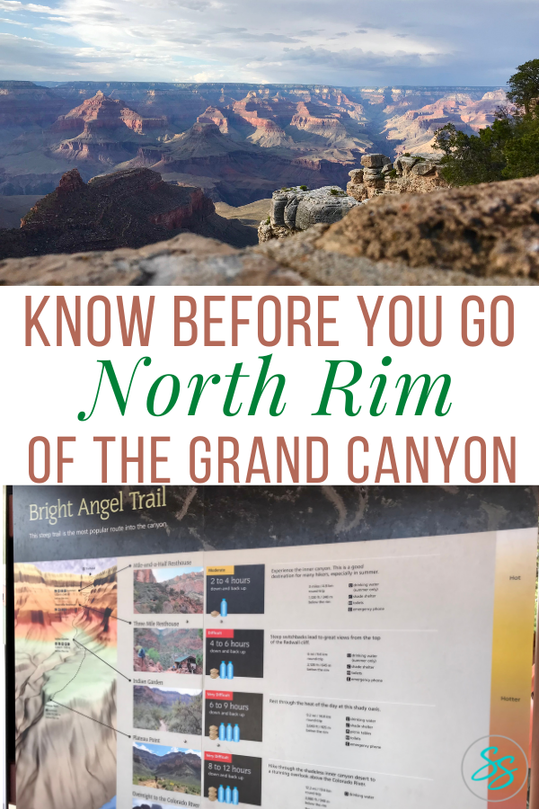 The North Rim of the Grand Canyon can be a bit tricky to visit. Find out what you need to know before you go. #traveltips #grandcanyon #nationalparks