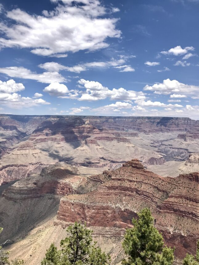 Arizona's Grand Canyon has two distinct visitor areas, the North Rim and the South Rim.