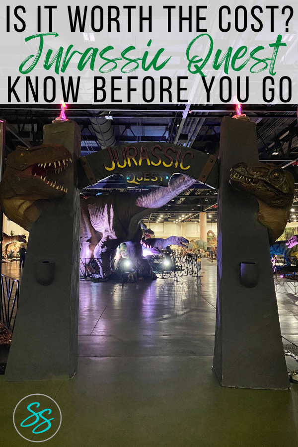 Is Jurassic Quest any good? How much does it cost? Find out if this dinosaur event is right for you in this Jurassic Quest review. #jurassicquest #jurassicquestreview